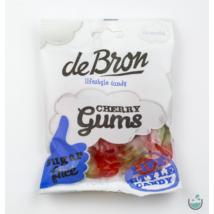 DeBron glutén- és cukormentes cseresznyés gumicukor 90 g