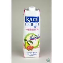 Kara kókuszvíz pink guavaval 1000 ml