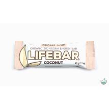 Lifebar kókuszos nyers vegán energiaszelet (bio, paleo) 47 g