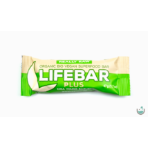 Lifebar plus chia + árpa nyers vegán bio superfood szelet 47 g