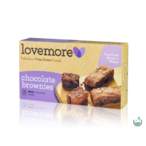LoveMore csokoládés brownie 180 g (gluténmentes)