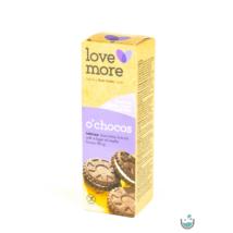 LoveMore gluténmentes o'choco csokis keksz 125 g (gluténmentes, vegán)