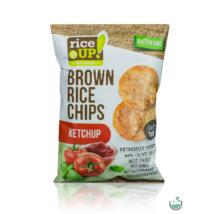 Rice UP! ketchup ízesítésű barna rizs chips 60 g