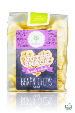 Éden Prémium banán chips 100/200 g