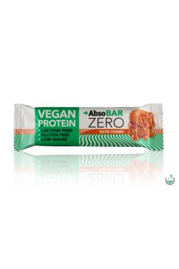 AbsoBAR ZERO Sós karamella ízesítésű fehérjeszelet 40 g (vegán, gluténmentes)
