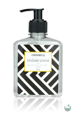 Cleaneco organikus folyékony szappan gyümölcsös púder illattal 250 ml