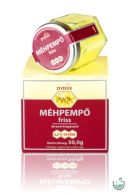 Dydex 100% tisztaságú friss méhpempő 50/100 g