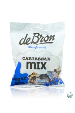 DeBron glutén- és cukormentes Karibi-mix karamella válogatás 90 g
