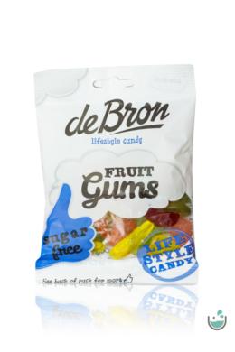 DeBron glutén- és cukormentes gyümölcsös gumicukor 90 g