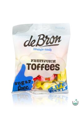 DeBron glutén- és cukormentes gyümölcsös olvadós cukorka 90 g