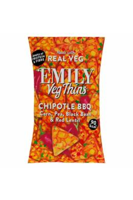 Emily Vegán tortilla chips – barbecue ízű 23/80 g