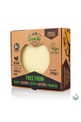 GreenVie Füstölt Gouda ízesítésű növényi sajthelyettesítő 250 g