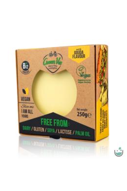 GreenVie Gouda ízesítésű növényi sajthelyettesítő 250 g