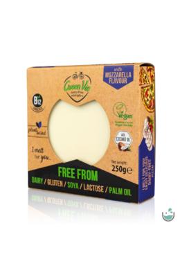 GreenVie Mozzarella ízesítésű növényi sajthelyettesítő 250 g