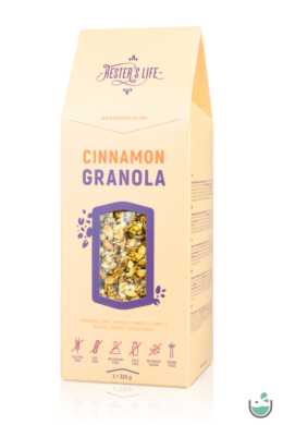 Hester's life cinnamon granola – fahéjas granola 320 g