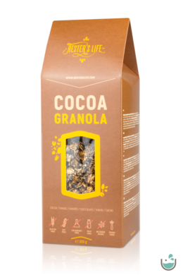 Hester's life cocoa granola – kakaós granola 320 g
