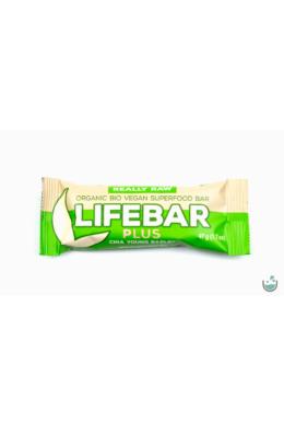 Lifebar plus chia + árpa nyers vegán bio superfood szelet 47 g