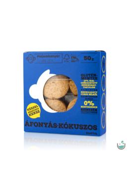 Majomkenyér áfonyás-kókuszos keksz 50 g
