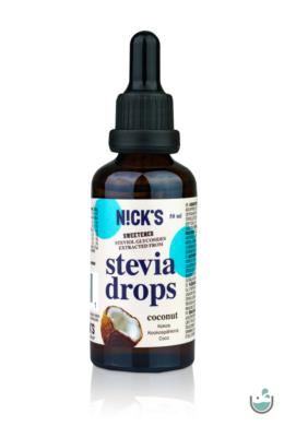 N!ck's kókuszos stevia csepp 50 ml
