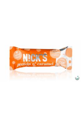 N!ck's protein n' caramel -  gluténmentes karamellás fehérjeszelet 50 g