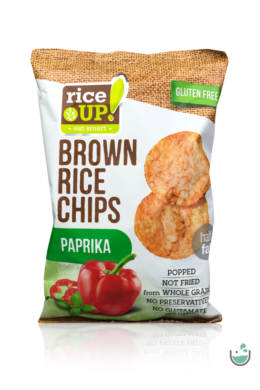 Rice UP! Paprikás barna rizs chips (vegán)  60 g