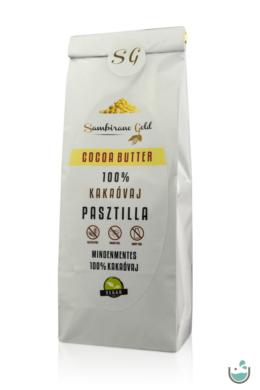 Sambirano Gold – 100% tisztaságú prémium belga kakaóvaj pasztilla 100/250 g