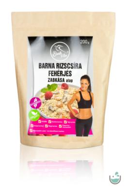 Szafi Free barna rizscsíra fehérjés zabkása alap 200 g (gluténmentes, vegán)