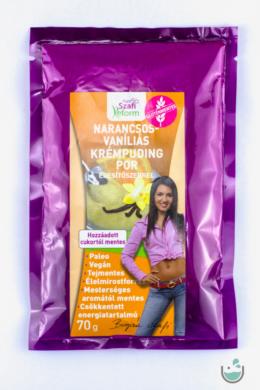 Szafi Reform narancsos-vaníliás krémpuding por 70 g