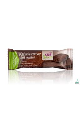 Szafi Reform Kakaós-Rumos ízű szelet (vegán) 25 g