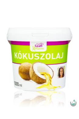 Szafi Reform kókuszolaj – kókuszzsír (szűrt, nem hidrogénezett) 1000 ml