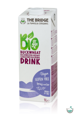 The Bridge bio hajdina és rizsital 1000 ml