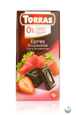 Torras epres étcsokoládé hozzáadott cukor nélkül 75 g – Natur Reform