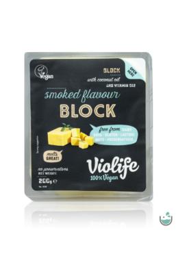 Violife füstölt ízesítésű növényi sajt tömb 200 g