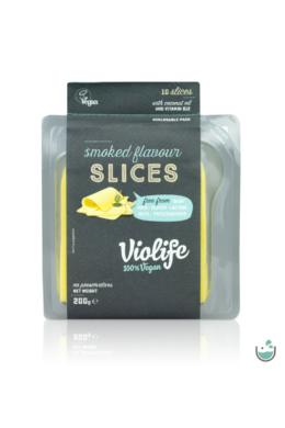 Violife füstölt ízesítésű szeletelt növényi sajt 200 g