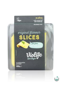 Violife natúr szeletelt növényi sajt 200 g