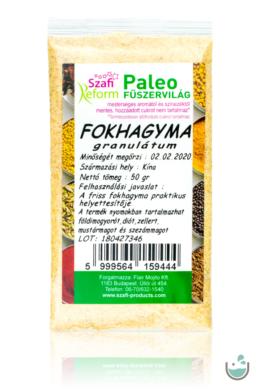 Szafi Reform paleo fokhagyma granulátum 30 g
