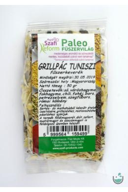 Szafi Reform paleo grillpác tuniszi fűszerkeverék 50 g