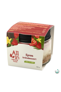 ALL IN natural food Epres krémdesszert 130 g