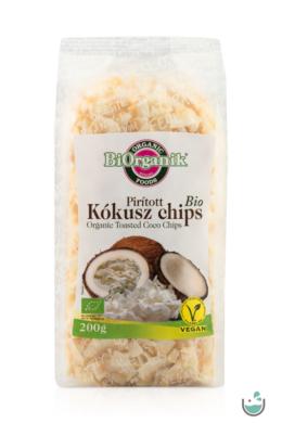 BiOrganik Bio Pirított Kókusz Chips 200 g