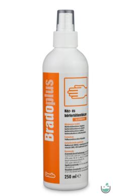 BradoPlus Kéz- és bőrfertőtlenítő pumpás 250 ml