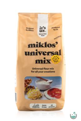 It's us Miklos's Gluténmentes univerzális lisztkeverék (Alfa-Mix) 500/1000 g