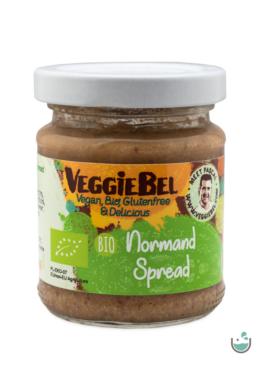 VeggieBel Vegán Bio Pástétom Normandi ízesítésű 115 g
