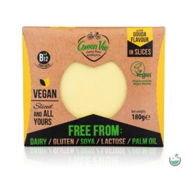 GreenVie Gouda ízesítésű szeletelt növényi sajthelyettesítő 180 g