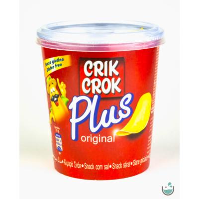 Crik Crok gluténmentes sós chips 40 g