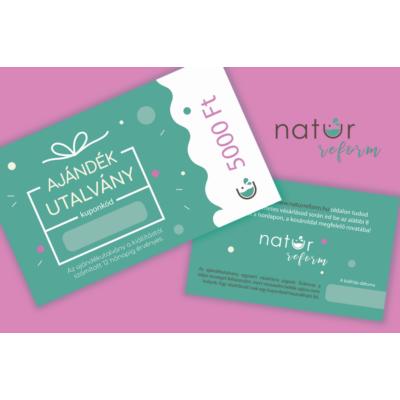 Natur Reform ajándékutalvány 5000 Ft értékben