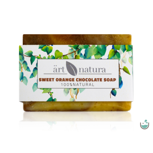 ArtNatura Csokis-Édesnarancsos szappan 85 g – Natur Reform