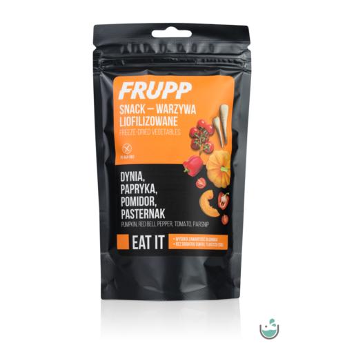 Frupp Liofilizált zöldségmix (paszternák- sütőtök- paradicsom- kaliforniai paprika) 15 g