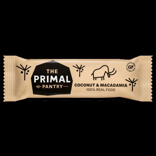 The Primal Pantry Kókusz-makadámia vegán szelet 45 g – Natur Reform