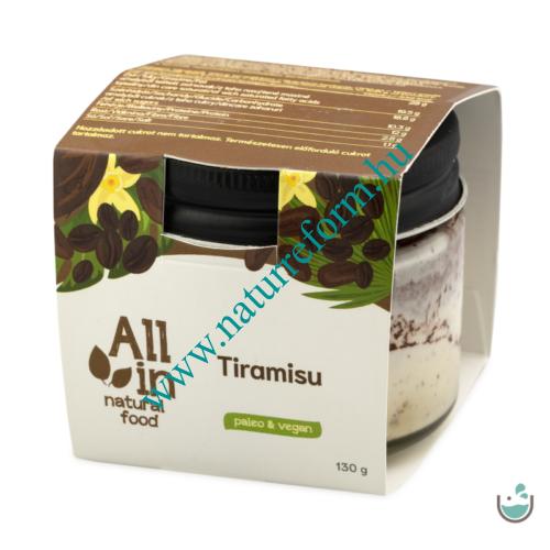 ALL IN natural food Tiramisu 130 g – Natur Reform
