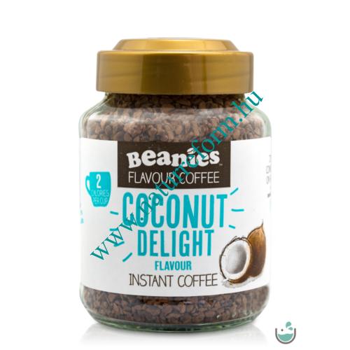 Beanies Kókusz ízű instant kávé 50 g – Natur Reform